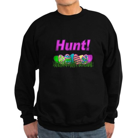 Hunt Easter Eggs Sweatshirt (dark)