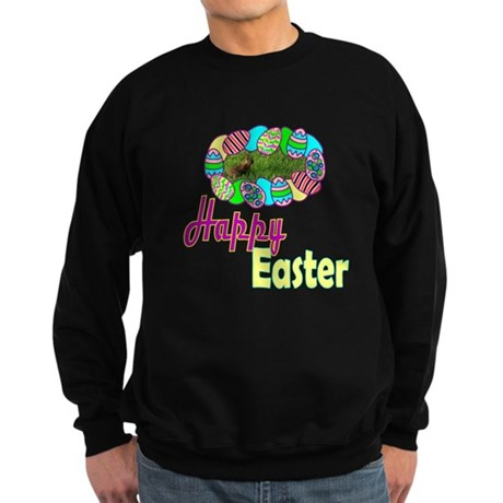 Happy Easter Bunny Sweatshirt (dark)