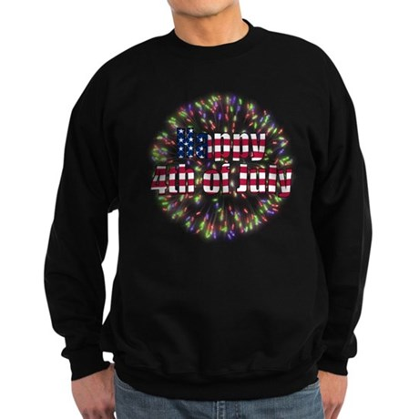Happy 4th of July Sweatshirt (dark)