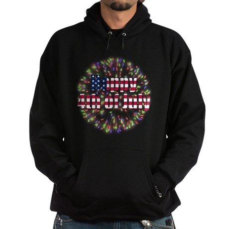 Happy 4th of July Hoodie (dark)