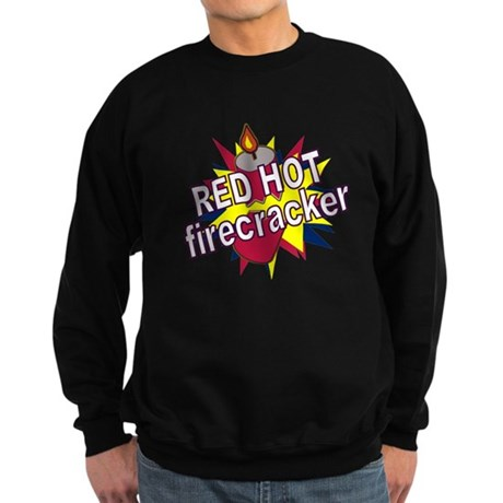 Red Hot Firecracker Sweatshirt (dark)