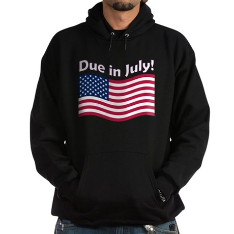 Due in July Hoodie (dark)
