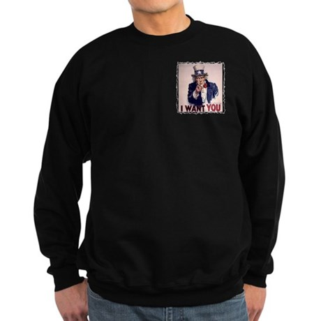 Uncle Sam t-shirt Sweatshirt (dark)