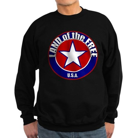 Land of the Free Sweatshirt (dark)