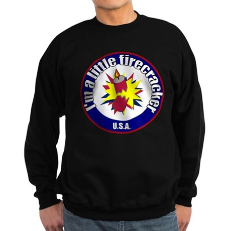 Little Firecracker Sweatshirt (dark)