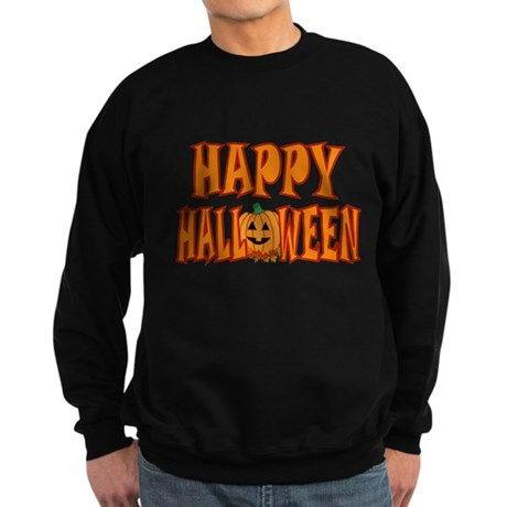 Happy Halloween Pumpkin Sweatshirt (dark)