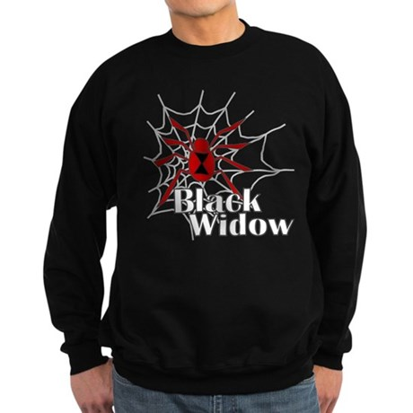 Black Widow Sweatshirt (dark)