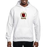 SAINT-QUENTIN Family Crest Hooded Sweatshirt