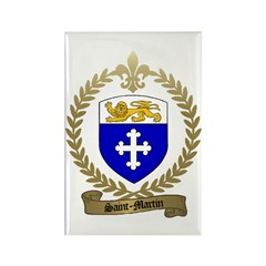 SAINT-MARTIN Acadian Crest Rectangle Magnet (10 pa