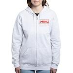 Cornhole Board Design Women's Zip Hoodie