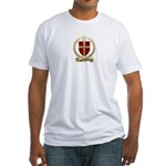 SAINT-ETIENNE Family Crest Fitted T-Shirt