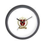 SAINT-ETIENNE Family Crest Wall Clock