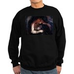 Edvard Munch, Vampire Sweatshirt (dark)
