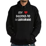 Heart Belongs Librarian Hoodie