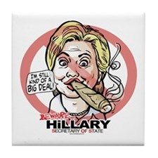 Big Deal Anti Hillary SOS Tile Coaster