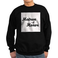Maid of Honor (black) Sweatshirt