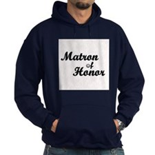 Maid of Honor (black) Hoodie
