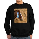All For A Ribbon Horse Sweatshirt
