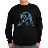 Horse Head Sketch Sweatshirt