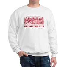 Sun Only-RED Sweatshirt