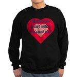 Share Your Heart Sweatshirt (dark)