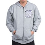 Great Dog Activities Zip Hoodie