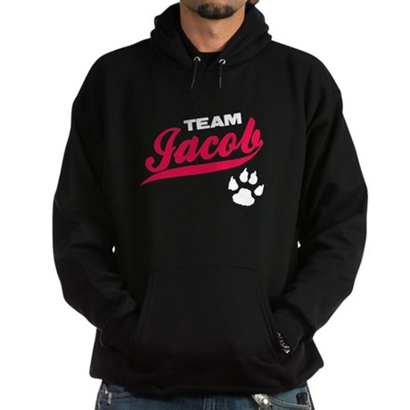 Team Jacob Twilight Hoodie (dark)