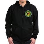 Masonic Afghanistan Zip Hoodie (dark)
