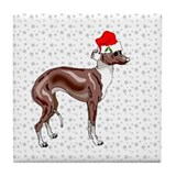Italian Greyhound Tile Coaster