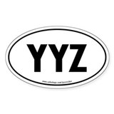 YYZ Decal
