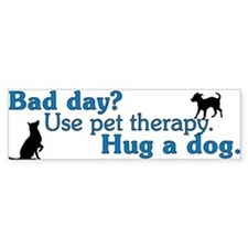 Bad Day Therapy Bumper Sticker (10 pk)