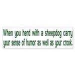 Carry Your Crook Bumper Sticker (10 pk)