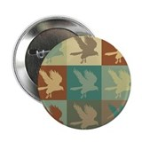 "Falconry Pop Art 2.25"" Button (10 pack)"