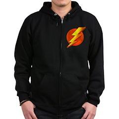 Superhero Zip Hoodie (dark)