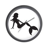 Cute Merpeople Wall Clock
