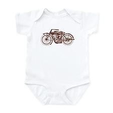 Vintage Motorcycle Infant Bodysuit