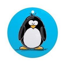Penguin Keepsake (Round)