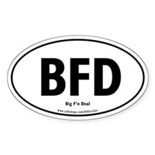 The BFD Decal