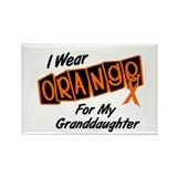 I Wear Orange For My Granddaughter 8 Rectangle Mag