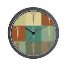 Embalming Pop Art Wall Clock