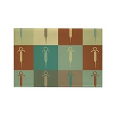 Embalming Pop Art Rectangle Magnet (100 pack)