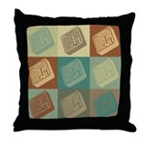 Electrical Engineering Pop Art Throw Pillow