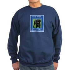Live Well, Laugh Often Sweatshirt