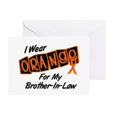 I Wear Orange For My Brother-In-Law 8 Greeting Car