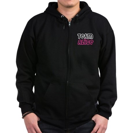 Team Alice Twilight Zip Hoodie (dark)