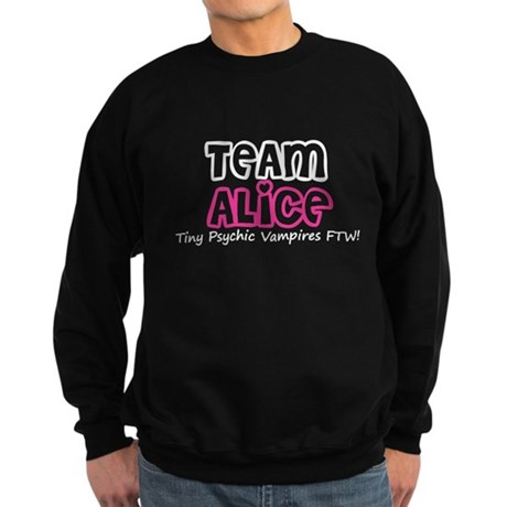 Team Alice Twilight Sweatshirt (dark)