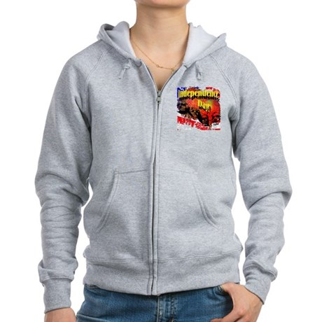 Independence Day Women's Zip Hoodie