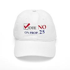 Vote NO on Prop 25 Baseball Cap