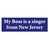 Bruce Springsteen Bumper Car Sticker