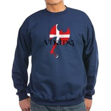 Denmark Viking Axe Sweatshirt
